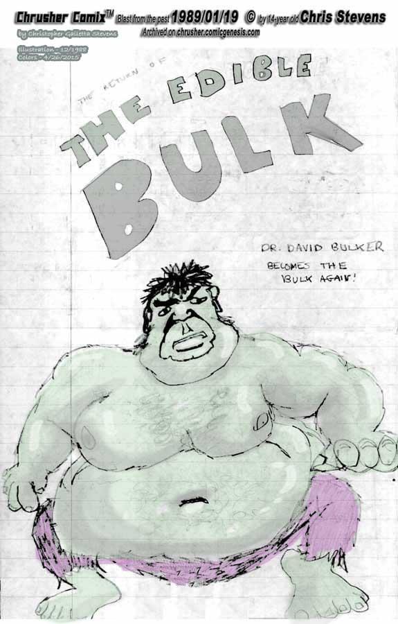 The (In)Edible Bulk (Faux Ad)