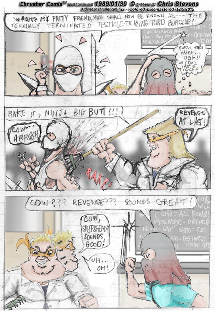 """Rake it, Ninja Big Butt!"" | Rake Science"