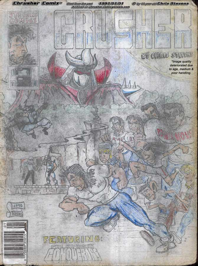 The Revelation of King Babah| Crusher Comics Year Three (1990-91)