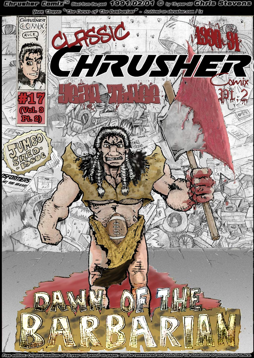 """Steven """"Barbarian"""" Howeird – The """"Spick-and-Span-Mad-Man"""" Hybrid Renegade Berserker 