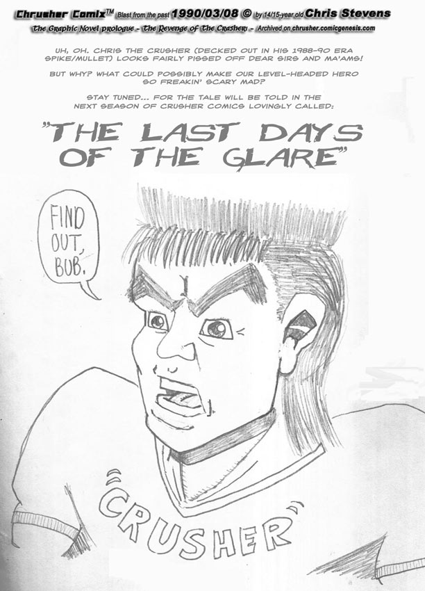 Chrusher Introduces Last Dayz Of The Glare