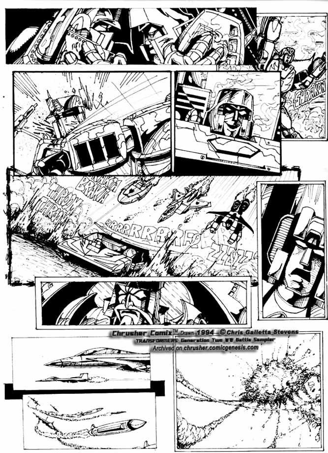 Transformers: G2 Battle (1993) | Chusher Comix