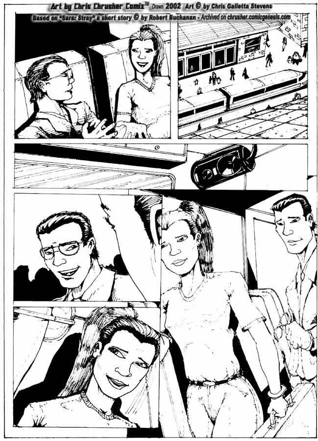 """Commissioned Artwork For Robert Buchanan's """"Stray"""" (Page 8)"""