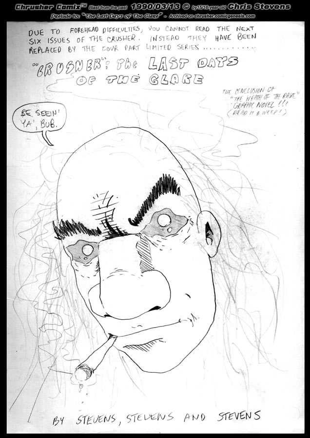 Crusher Comics | Season Two, Part One – Promotional Teaser Sketch