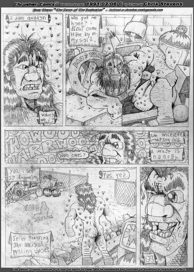 """Howeird Awakes / The Mating Call Stirs The Juices 
