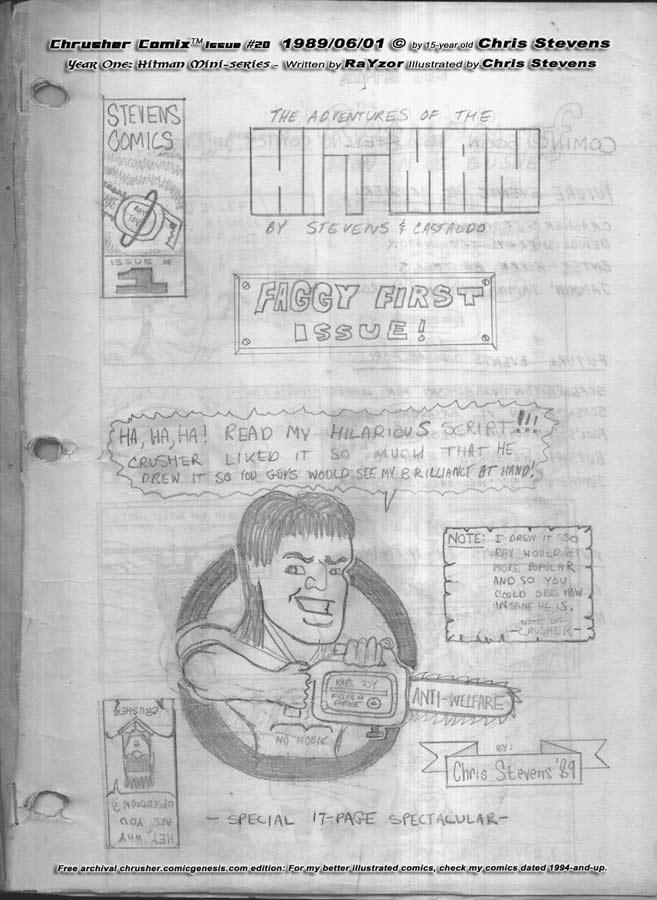 (S)Hitman Comics (1989) | by Castaldo & Stevens