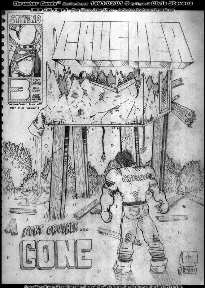Fort Crusher… GONE! | Crusher Comics: Year Three, Issue #3