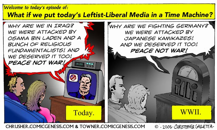 What If We Had The Liberal Media During WWII? | Chrusher Comix