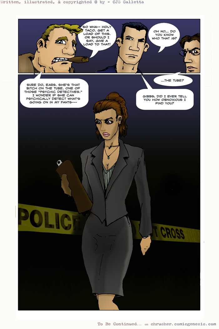 Officer Eggleton | End Cycle #1 – Page 14 (2007-11-29)