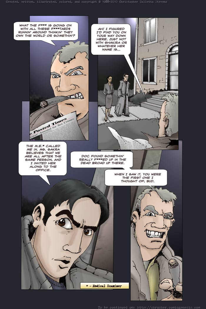 The M.E. Called | End Cycle #2 (2010-01-01)