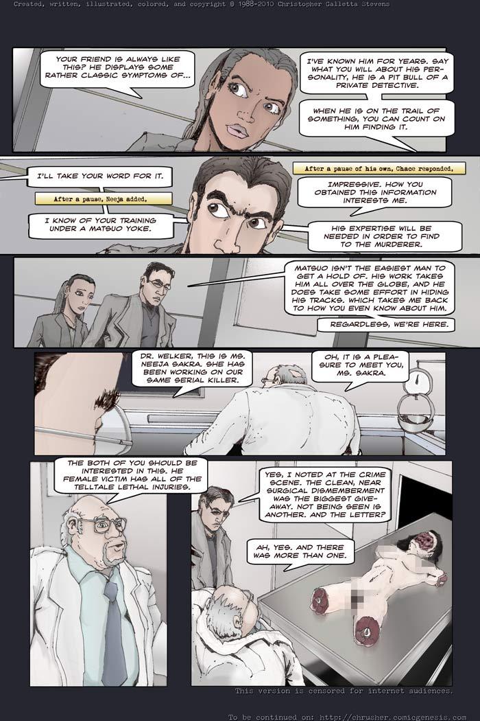Dr.Welker, Medical Examiner  | Chrusher: End Cycle #2