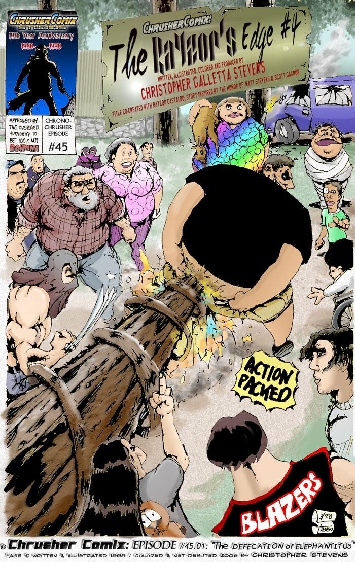 The Defecation of Elephantitus | The RaYzor's Edge #4 (1998-03)
