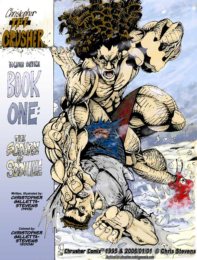 Return of the Crusher #1 – The Scourge of the Scovillian | (Colored cover Version)
