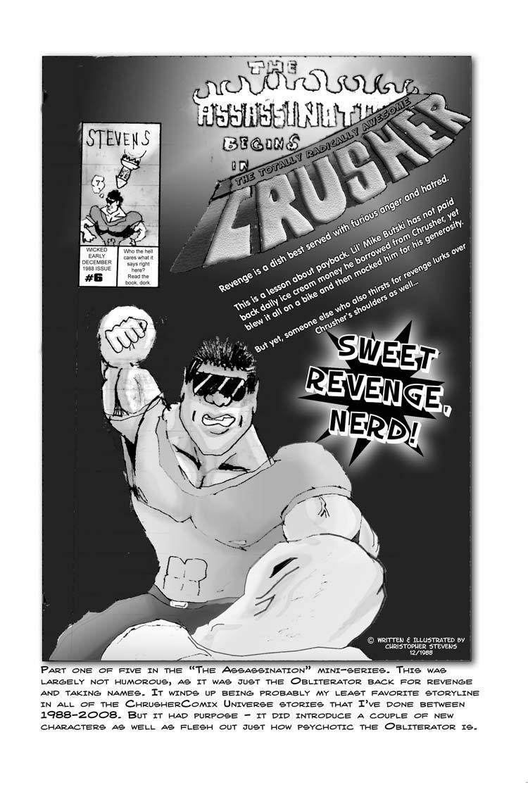 Sweet Revenge, Nerd!   Crusher Comics #2 (1988)