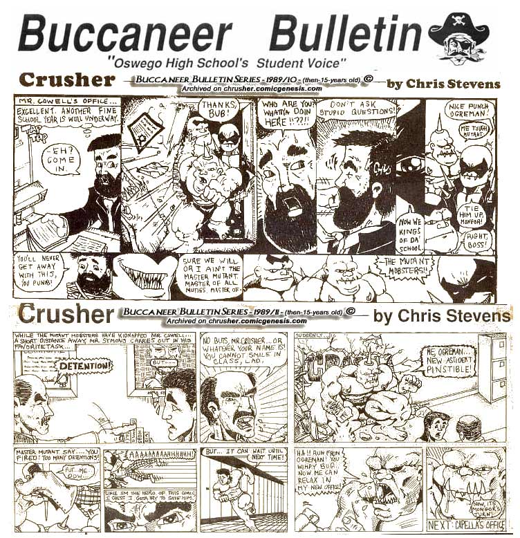 Buccaneer Bulletin Series: Mutant Mobsters Take Over OHS, Pt. 1